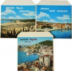 Yugoslavia Souvenir Pula, Vodice, Split