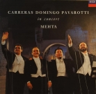 Carreras Domingo Pavarotti in concert