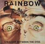Rainbow - Straight between the eyes (Ger)